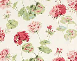 Laura Ashley Geranium Pale Cranberry